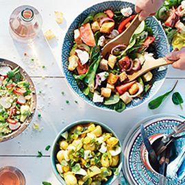 Salades bij de bbq