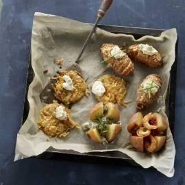 'Hasselback' aardappels