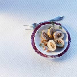 Kipfilet gevuld met garnalen en dille