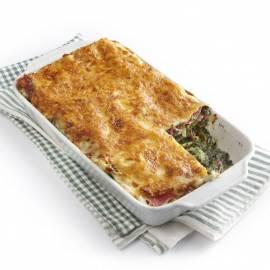 Lasagne met boerenkool en ham
