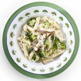 Penne met broccoli en ansjovis