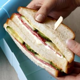 Pikante clubsandwich