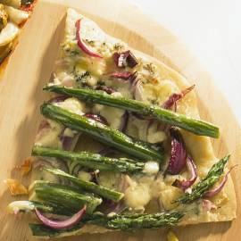 Pizza Asparagi
