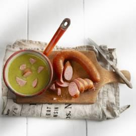 Romige spruitjessoep +clubsandwich