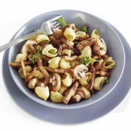 Shoarmaschotel met champignons