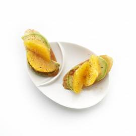 Sinaasappelcrostini