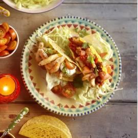 Taco met vis