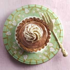Tarte mousse au chocolat