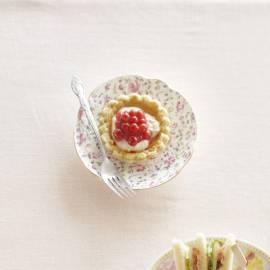 Tartelets met ricottavulling en bessen