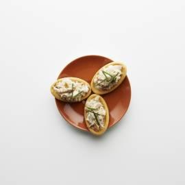 Toastje makreelrilettes