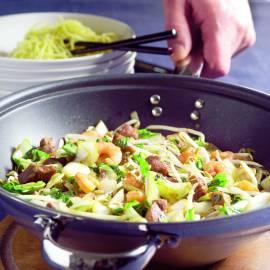Chinese groenten uit de wok