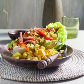 Chinese koolsalade met oosterse dressing