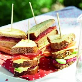 Clubsandwich gezond