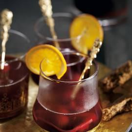 Bisschopswijn met kersen en cranberry