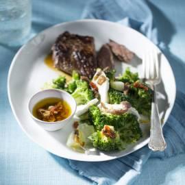 Broccoli met mozzarella en ansjovis