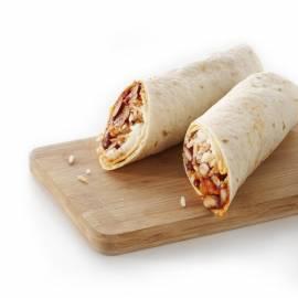 Burrito met spekjes en bonen