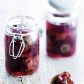 Druivenjam met port en specerijen