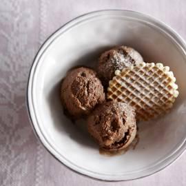 Chocoladesorbet