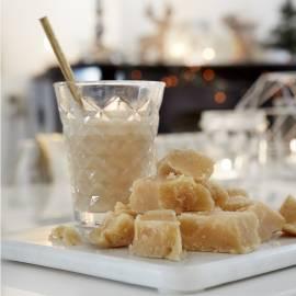 Chai met amandelmelk en honing