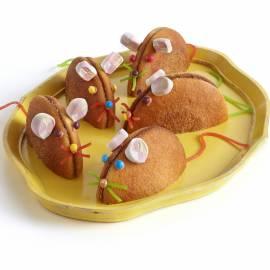 Eierkoek chocolademuizen