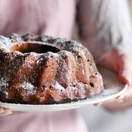 Engelse vruchtencake