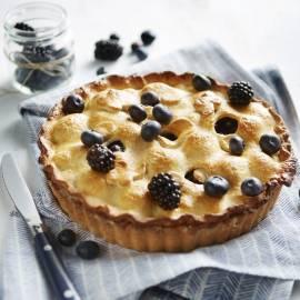 Classic American pie met bramen en bessen