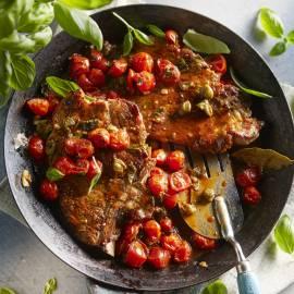 Napolitaanse karbonade met ovengedroogde tomaten