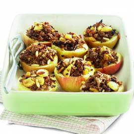 Hartige appels uit de oven