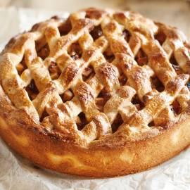 Hollandse appel-abrikozentaart