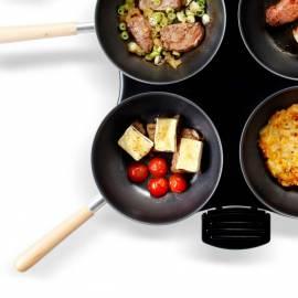 Kalfsschnitzel met gepofte tomaat en brie