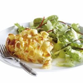 Pasta roomtaart met kaas