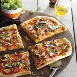 Pizza met sardine en ansjovis (Italië)