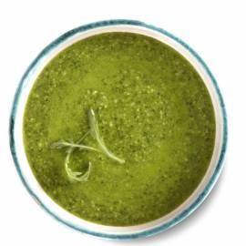 Rucola-avocadodip