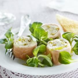 Salade met hamterrine