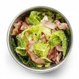 Savooiekool met rozemarijn en bacon