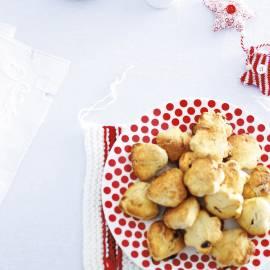 Scones met cranberry's en abrikozen