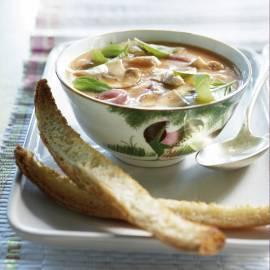Thaise bouillon met kip
