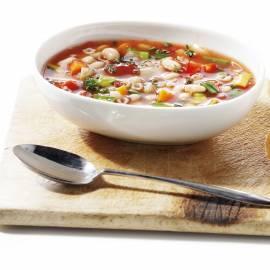 Vegetarische minestronesoep