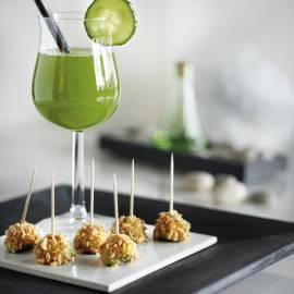Verfrissend komkommer-citroendrankje