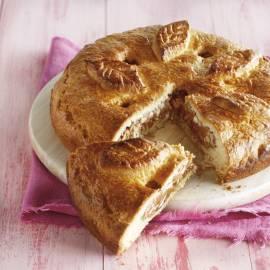 Zwitserse pie met walnoot, hazelnoot en amandel
