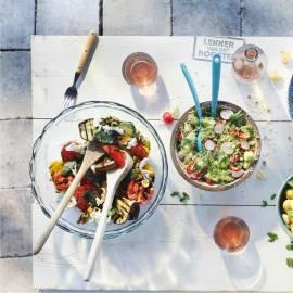 Geroosterde groenten met balsamicodressing