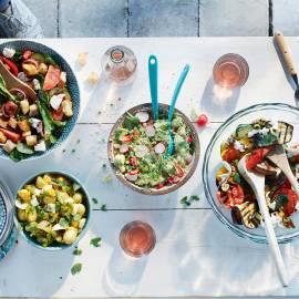 Krieltjessalade met ei en munt