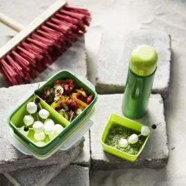 Gegrilde groentensalade met mozzarella