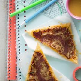 Geodriehoek-pizza's