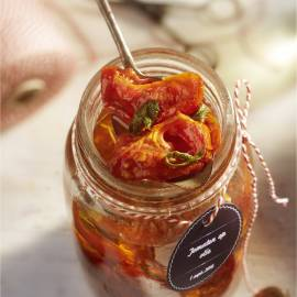 Tomaten op olie