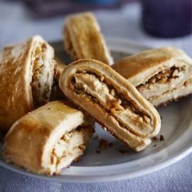 Kaneelbroodjes met walnoot