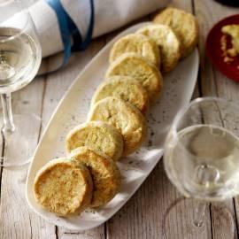 Parmezaan-shortbread met rozemarijn