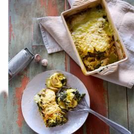 Tortellini-spinazieschotel