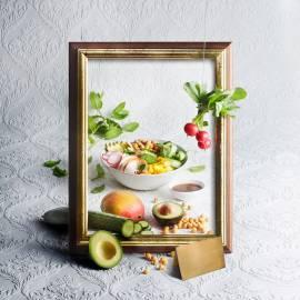 Poke bowl-salade