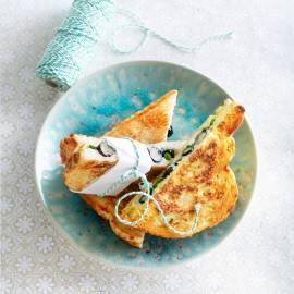 Blauwebessen-tosti